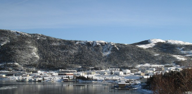 "Beauty day in the ""Arm"" Harbour Breton, Newfoundland and Labrador Canada"