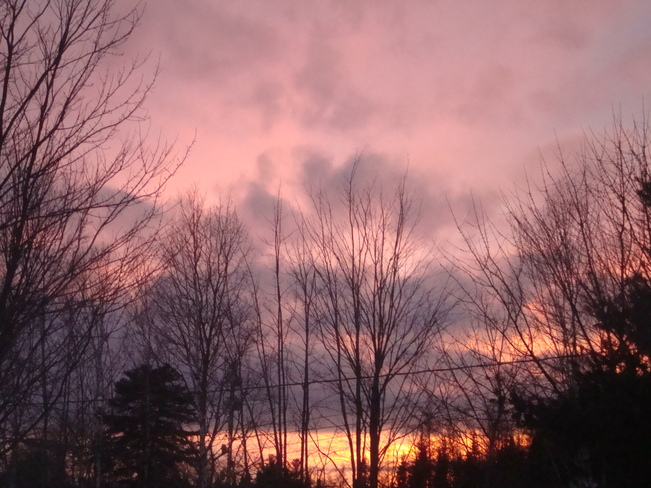Magenta Sky Richibucto Road, New Brunswick Canada