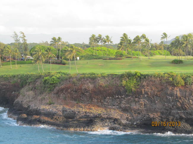Golfing by the blue Pacific Lihue, Hawaii United States
