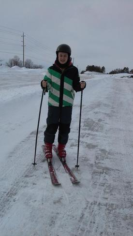 Me Getting Ready To Ski!! Kirby, Ontario Canada