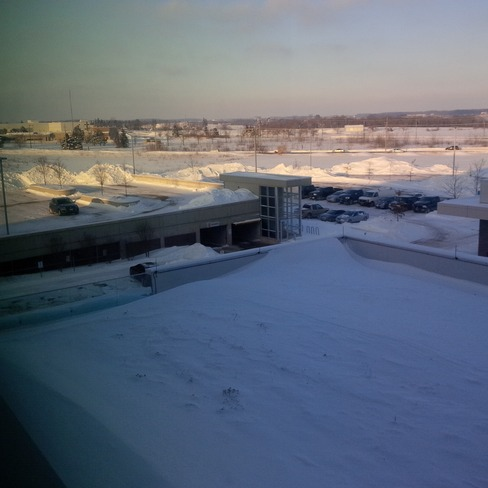 View from 3rd floor Waterloo, Ontario Canada