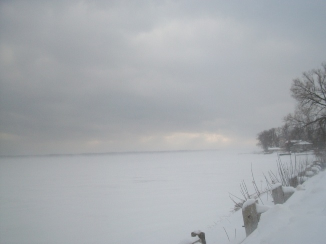 Squalls over St Lawrence Maitland, Ontario Canada