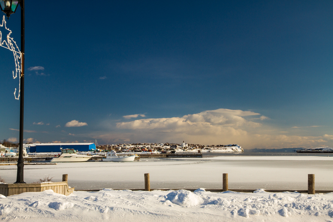Harbor Freeze Bay Roberts, Newfoundland and Labrador Canada