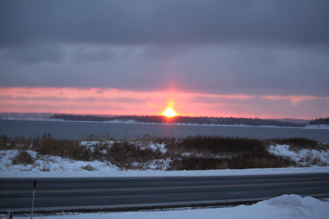 Sunset Eastern Passage, Nova Scotia Canada