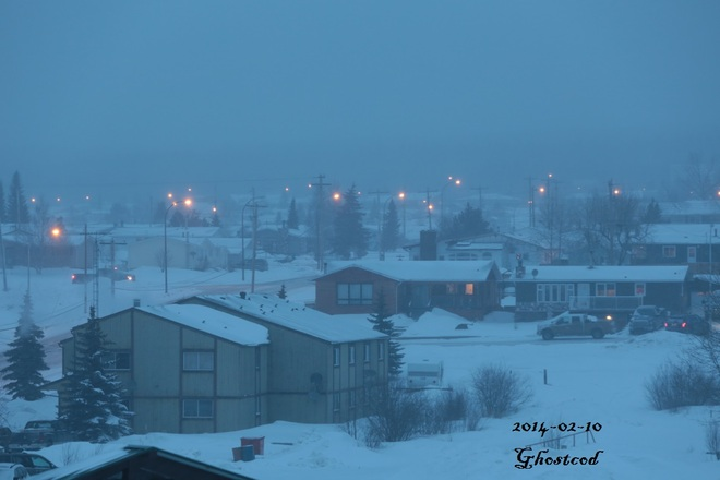 -20.3°C and light snow Swan Hills, Alberta Canada
