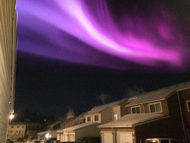 Beautiful,on a cold night. Fort McMurray, Alberta Canada