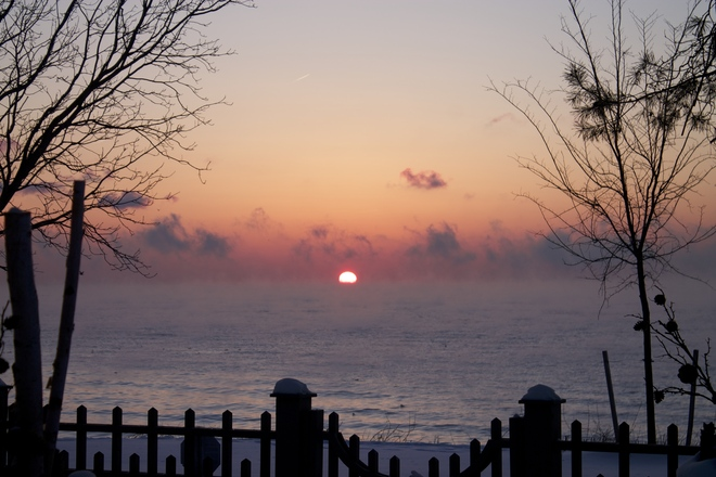 Early Morning Sunrise Oakville, Ontario Canada