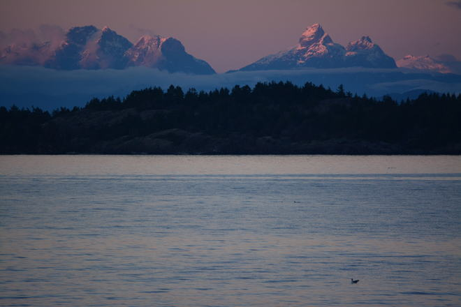 Alpenglow Nanoose Bay, British Columbia Canada