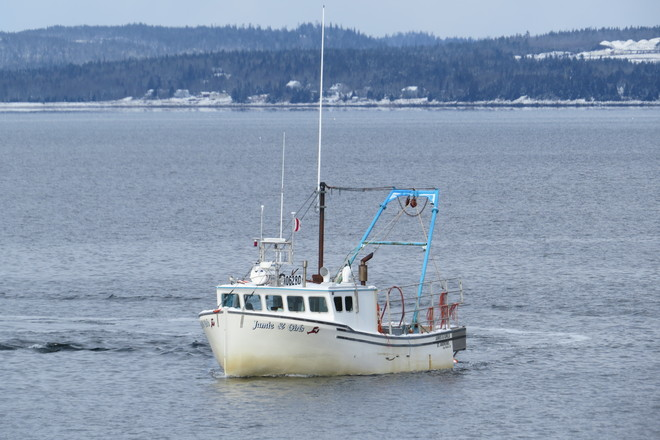 Lobster Boat in St. Margarets Bay, NS