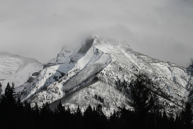 Unnamed Beautiful Peak Canmore, Alberta Canada