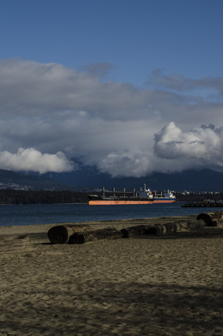 Clouds over Spanish Banks Vancouver, British Columbia Canada