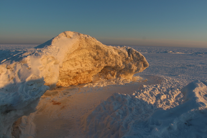Ice Caves of Crystal Beach