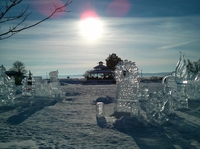 Ice sculptures Barrie, Ontario Canada