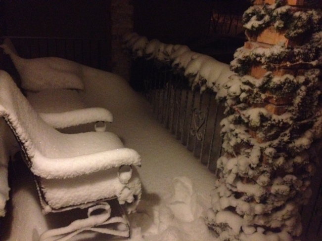 too much SNOW! Thunder Bay, Ontario Canada