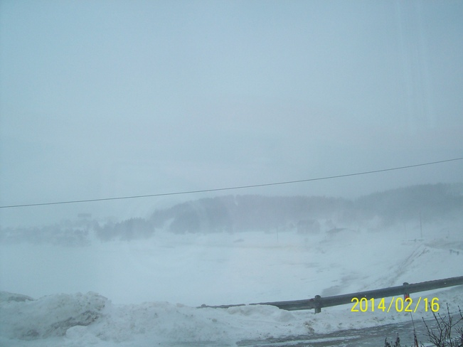 blizzard in Twillingate Twillingate, Newfoundland and Labrador Canada