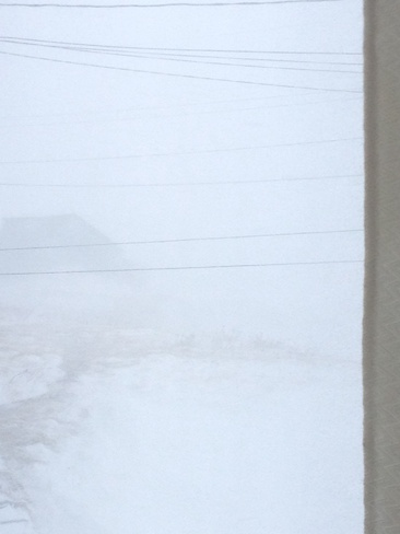 Blizzard Fogo, Newfoundland and Labrador Canada