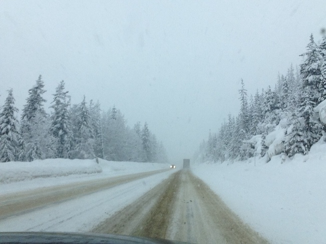 dicey drive to calgary Winfield, British Columbia Canada