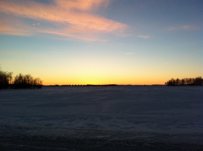 sunset Whitewood, Saskatchewan Canada