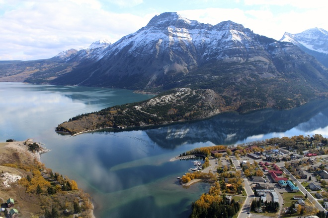 Spectacular view Waterton Park, Alberta Canada