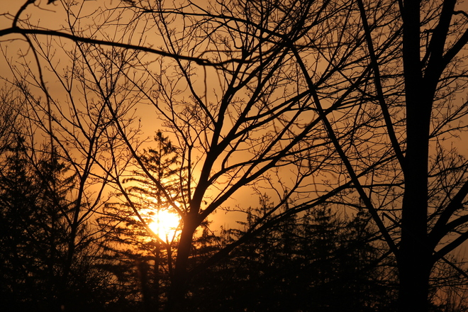 On Fire Cobourg, Ontario Canada