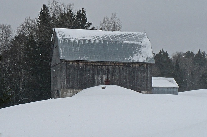 Outpost Barn Bummers' Roost, Ontario Canada