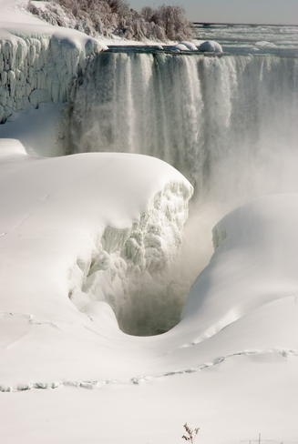 Natural Ice Sculpture Niagara Falls, Ontario Canada