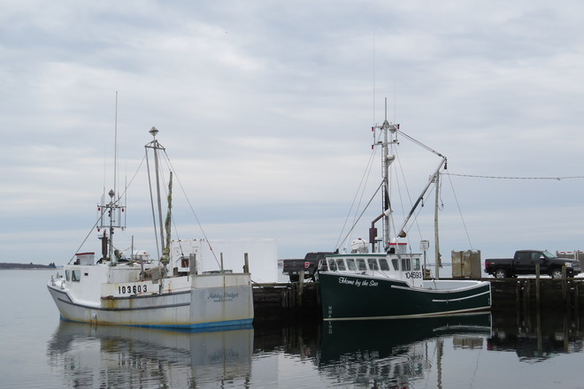 Lobster Boats At Rest Chester, Nova Scotia Canada