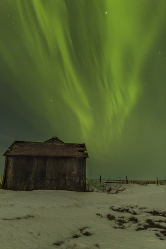 Northern LIghts Feb 18 2014 Regina, Saskatchewan Canada