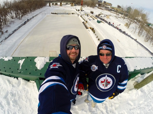 Winnipeg Jets Outdoor Practice Winnipeg, Manitoba Canada