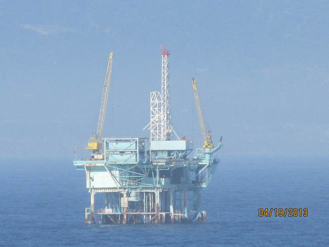 California Oil Rig Santa Barbara, California United States