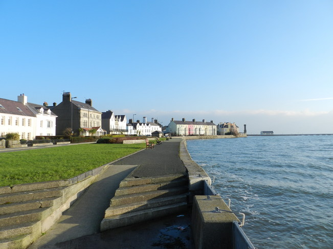 Beaumaris on a windy morning Beaumaris, Isle Of Anglesey, West Wales and the Valleys United Kingdom