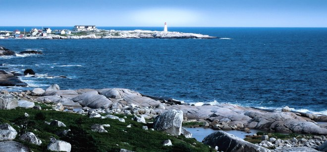 ocean beautiful Peggys Cove, Nova Scotia Canada