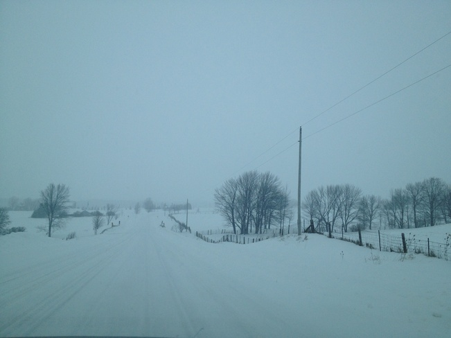 A snowy drive to Blue Mtn.! The Blue Mountains, Ontario Canada
