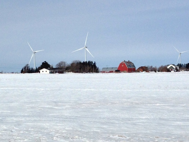 wind power Summerside, Prince Edward Island Canada