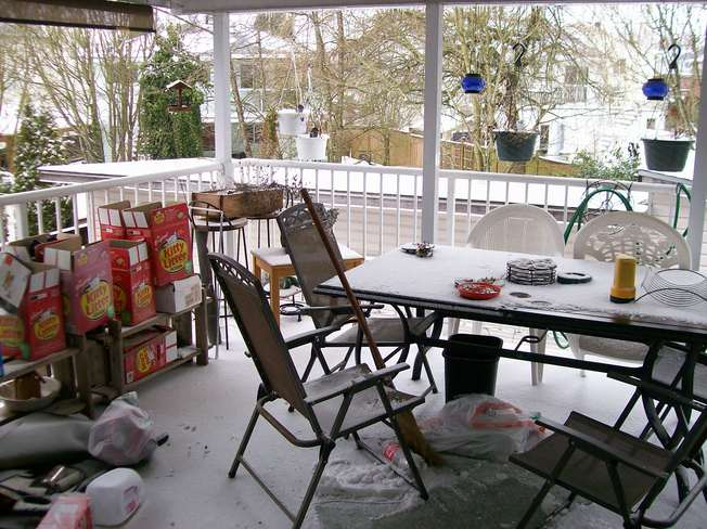 So much for a covered deck Aldergrove, British Columbia Canada