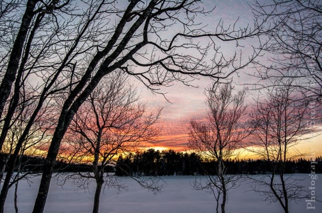 Sunset tonight Alberton, Prince Edward Island Canada