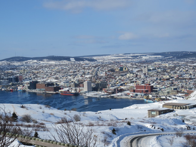The view from Signal Hill, St. John's St. John's, Newfoundland and Labrador Canada