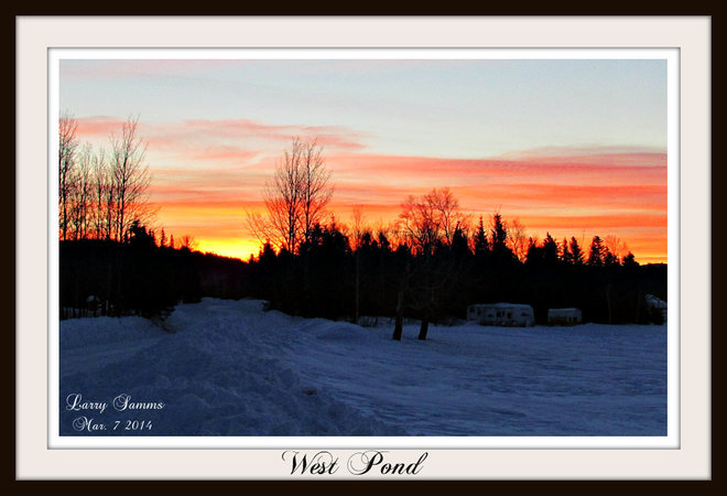 """Just Before Sunrise"" Springdale, Newfoundland and Labrador Canada"