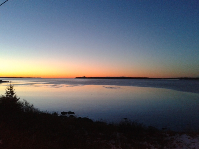 Sunrise on the Eastern Shore Tangier, Nova Scotia Canada