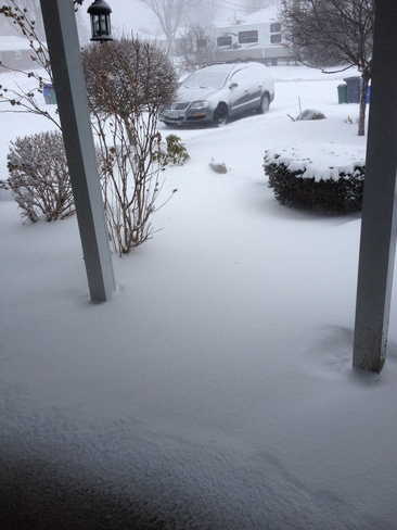 out my front door ..ugh lol Welland, Ontario Canada