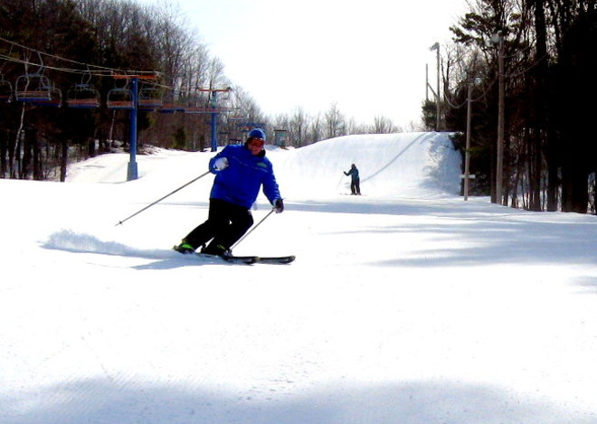 Great Skiing at Rigaud Ski Mountain Rigaud, Quebec Canada