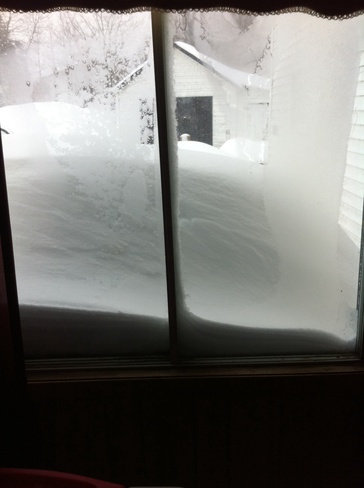 to much snow Bristol, New Brunswick Canada