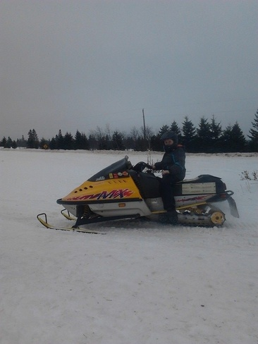 Ski-doo time!!!!!! Hunter River, Prince Edward Island Canada