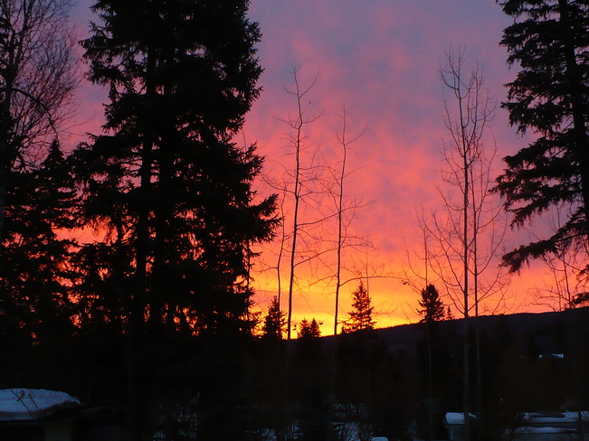 Beautiful Sunrise Quesnel, British Columbia Canada