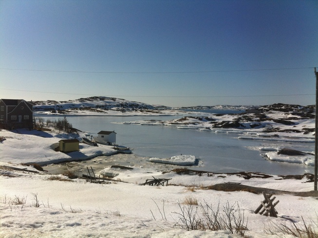 Day at Badgers Quay. Badgers Quay-Valleyfield-Pools Island-Wesleyville-Newtown, Newfoundland and Labrador Canada