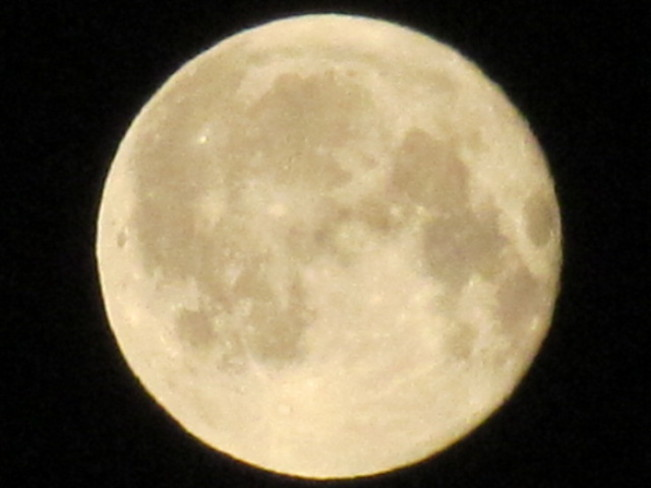 Irish Full Moon Cloverdale, British Columbia Canada