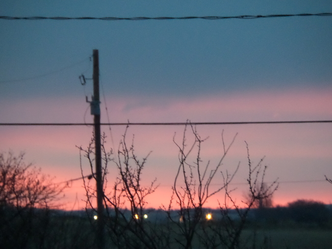 Early Morning Maple Creek, Saskatchewan Canada