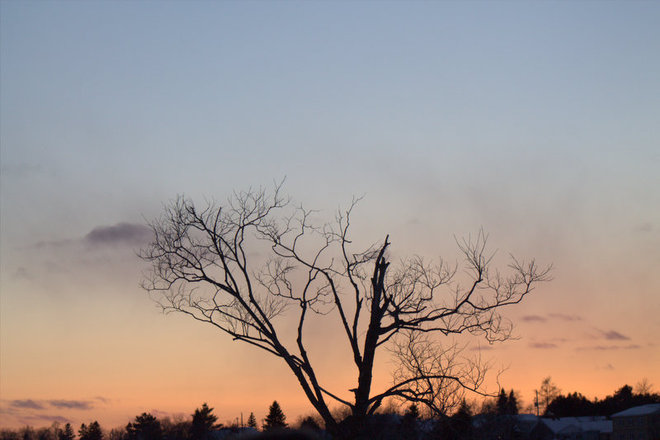 """sunset"" Timmins, Ontario Canada"