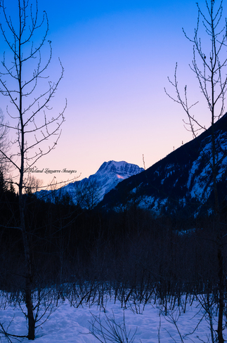 sunrise Revelstoke, British Columbia Canada