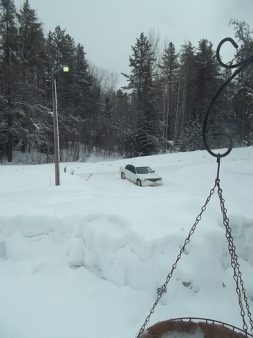 Stuck in the SNOW AGAIN!! Timmins, Ontario Canada
